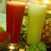 Sumo de Abacaxi, Beterraba, Cenoura e limão