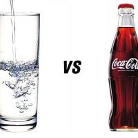 8 Razões para beber água em vez de coca-cola