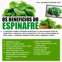 Os Benefícios do Espinafre