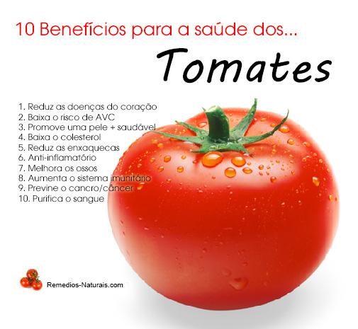 10 Beneficios para a Saude de... Tomates